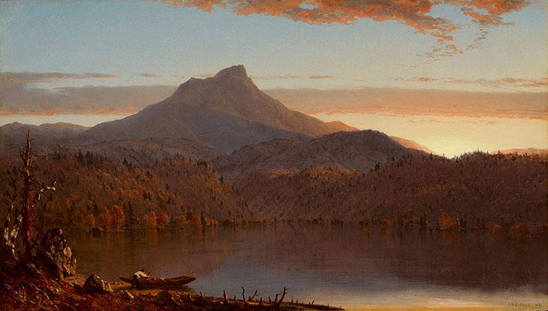Gifford-A Lake at Twilight