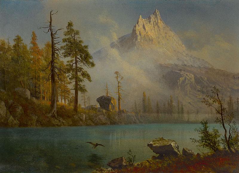 Bierstadt-Mountain Lake