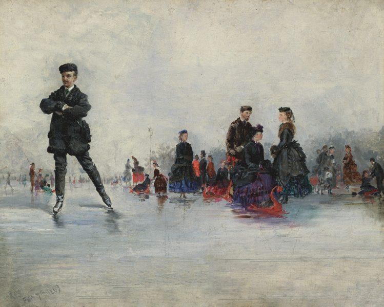 The Skating Party, Paris