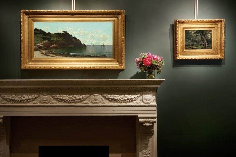 Bricher and Kensett at Questroyal Fine Art