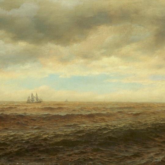 Sailing Ship on the Horizon