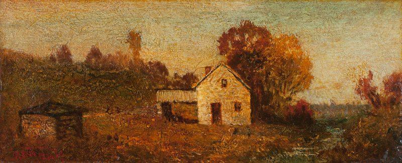 House by a Stream
