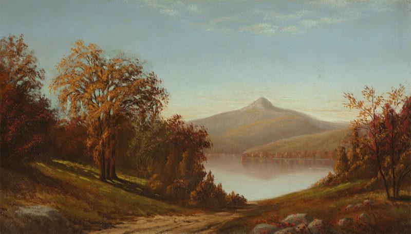 View of Mount Chocorua, from Lake Chocorua