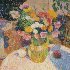 In the Sunlight, Artist's Garden