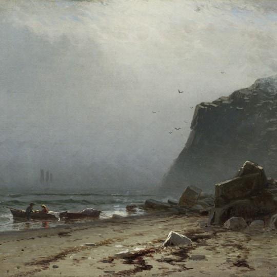 Lifting Fog, Grand Manan