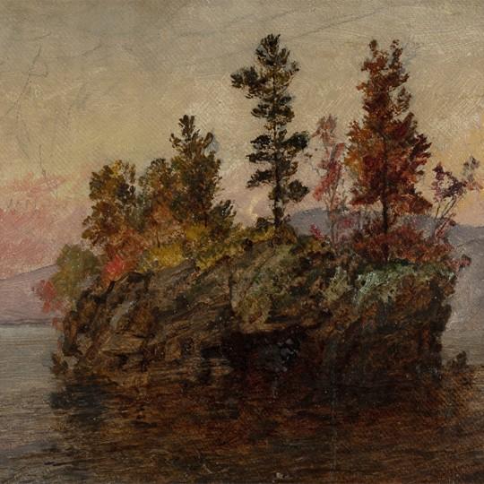 Island in the Hudson