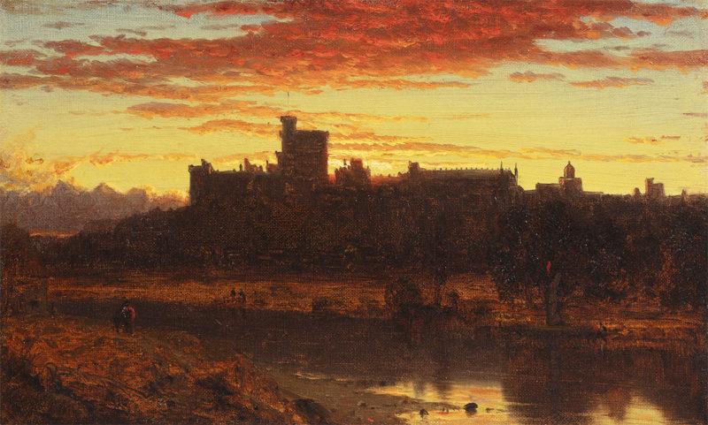 Windsor Castle at Sunrise