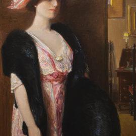Fire Opals (Lady in Furs: Portrait of Mrs. Searls)