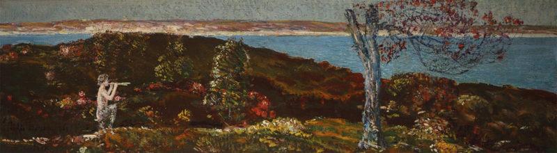 Pan and the Pepperidge Tree