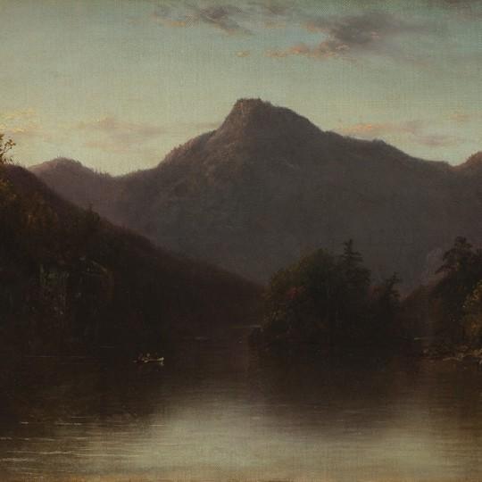 Evening in an Adirondack Lake