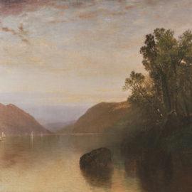 Scene at Lake George