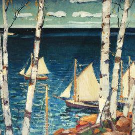 Sea and Birches