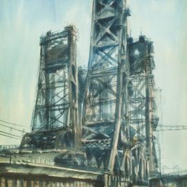 Lift Bridge, Jersey Marshes