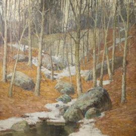 Winter Near Gloucester, Massachusetts
