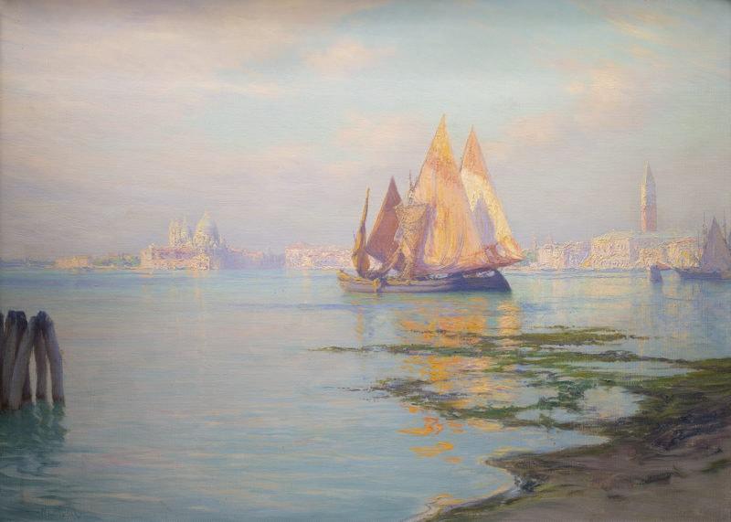 Sailing on the Laguna Veneta