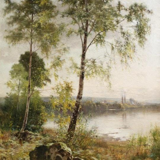 View by a Lake