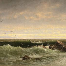 The Evening Sea, Brigantine, Shoals