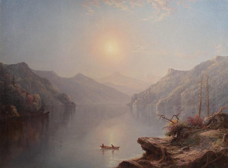 River Landscape at Daybreak