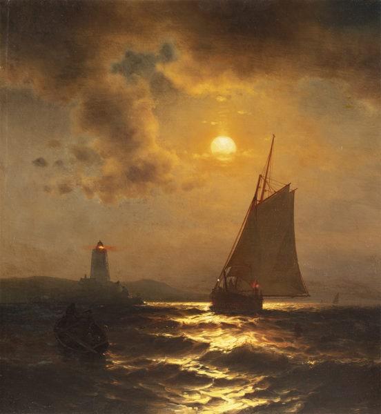 Fishing at Moonlight